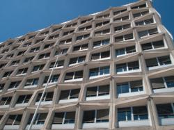 Boulevard Vivier-Merle : immeuble France Telecom