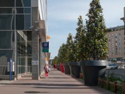Boulevard Vivier-Merle : immeuble de la Caisse d'allocations familiales