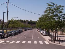 Chantier de la T4 vers l'avenue Félix-Faure et la rue Mouton-Duvernet