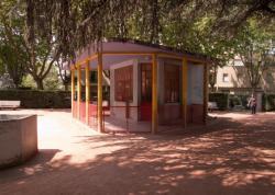 Le Jardin des Tout-Petits à Villeurbanne : la loge de la gardienne