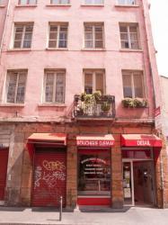 Une boucherie rue Sébastien-Gryphe