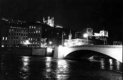 Le pont Bonaparte le 8 décembre