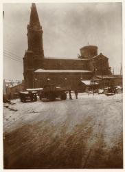 [Ancienne église de Serin sous la neige]
