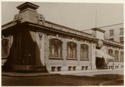 [Rue de Créqui, salle Lugdunum, future annexe de la Banque de France, vers 1930]