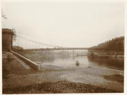 [Vaise, la Saône, vers l'actuel pont Mouton]