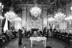 [Le Premier ministre Jacques Chirac en visite à Lyon]