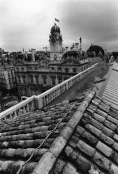 [L'hôtel de ville de Lyon depuis les toits du Palais Saint-Pierre]