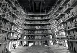 [Chantier de l'Opéra national de Lyon, version Jean Nouvel (jour J - 1 an)]