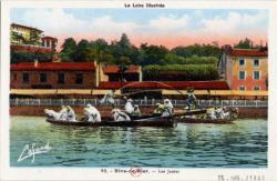 La Loire Illustrée, Rive de Gier : Les Joutes.