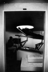 Palais Saint-Pierre, musée d'art contemporain : installation de l'artiste James Turell