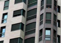 Fenêtres et façades en bord de Saône 07/10 : Oblique