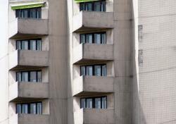 Fenêtres et façades en bord de Saône 08/10 : Triangulaires