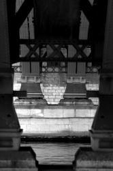 Ponts et passerelles 37/39 : Entretoise métallique sous tablier