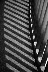 Ponts et passerelles 14/39 : Ombre des rambardes...