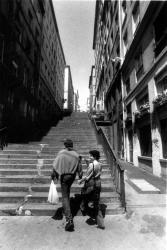Escalier de la rue Pouteau