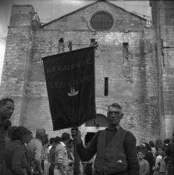 Ici, bannière des Gitans, 1952