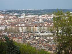 Vue du 1er arrondissement de Lyon