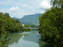 Le Rhône vers Yenne