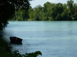 Le Rhône à Anthon