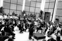 Inauguration du Conservatoire National Supérieur de Musique