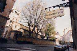 [Ancienne bibliothèque du 2e arrondissement. Rue Bourgelat]