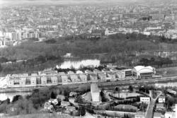 [Vue aérienne du Palais de la Foire de Lyon]
