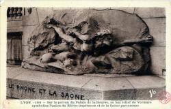 Lyon. - Le Rhône et la Saône