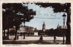 Lyon : Place Bellecour