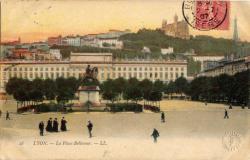 Lyon. - La Place Bellecour