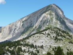 Le Grand Veymont, point culminant du Vercors