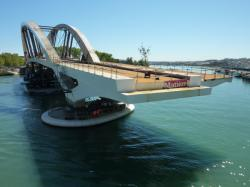 Tablier du pont Raymond-Barre