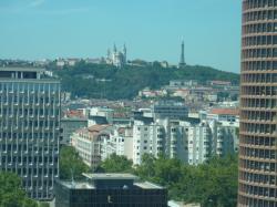 Vue du 3e arrondissement de Lyon
