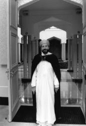 [Abdelhamid Chirane, grand mufti de la mosquée de Lyon]