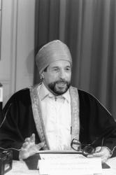 [Abdelhamid Chirane, imam de la Grande mosquée de Lyon]