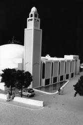 [La Grande mosquée de Lyon (maquette)]