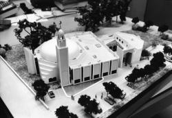 [Maquette de la Grande mosquée de Lyon]