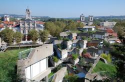 [Point de vue sur les terrasses de la Cité]