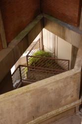 [Vue d'un escalier intérieur de la Cité]