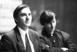 """[Conférence de presse pour """"Féroé, la nuit"""" de Michel Deutsch]"""