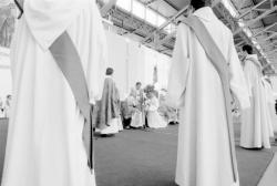 [Cérémonie d'ordination de prêtres du diocèse de Lyon]