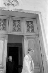 [Le juge Jean-Pierre Getti à l'archevêché de Lyon]