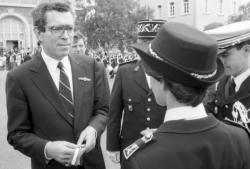 [Cérémonie de sortie de la 39e promotion de commissaires de police à Saint-Cyr-au-Mont-d'Or]