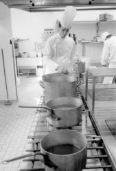 [Patrick Henriroux, chef cuisinier de La Pyramide]