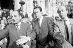 [V. Giscard d'Estaing et Jacques Chirac à Lyon]