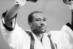 [Boxe - championnat du monde super-walter : René Jaquot (FR) - John Mugabi (UG)]