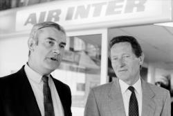 [Pierre Eelsen, président d'Air Inter]