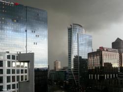 Ciel d'orage sur la Part-Dieu