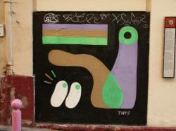 Rue Claude Pouteau : Tag THTF