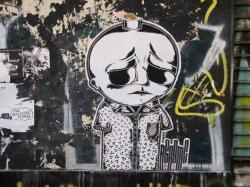 Rue Pierre Poivre : Tag papier