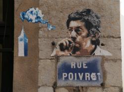 Rue Pierre Poivre : Le fumeur